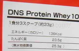 タンパク質含有量をチェック