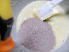 プロテイン蒸しケーキ プロテインとの混合