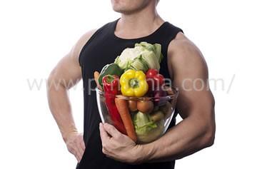 ベジタリアンと筋肉