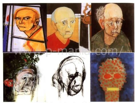 アルツハイマー病 画家と自画像